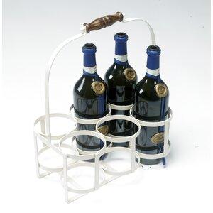 Weinflaschenträger Avignon von Black Country Me..
