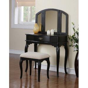 black bedroom vanity. Black Vanity Tables You ll Love  Wayfair Best Bedroom Vanities Ideas Home Design