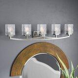 Vanetten 5 - Light Dimmable Vanity Light