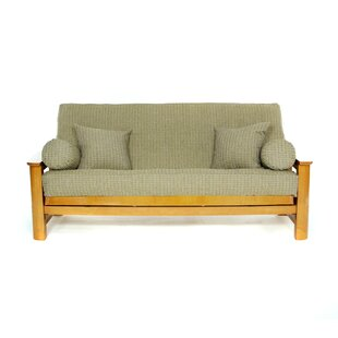 Affordable Breezy Point Box Cushion Futon Slipcover by Lifestyle Covers Reviews (2019) & Buyer's Guide