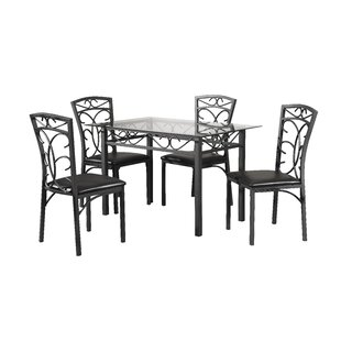 Cape 5 Piece Dining Set by Red Barrel Studio