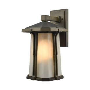 Read Reviews Dima 1-Light Outdoor Wall lantern By Brayden Studio