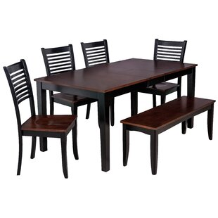 Boswell 6 Piece Solid Wood Dining Set by ..