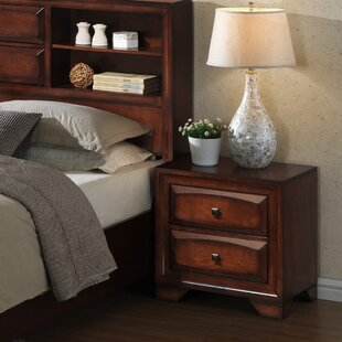 Beagan 2 Drawer Nightstand