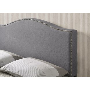 Alcott Hill Aslan Queen Upholstered Panel Headboard