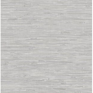 longoria tibetan grasscloth 18 l x 205 w peel and stick wallpaper roll
