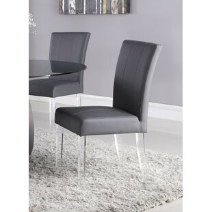 Madilyn Upholstered Dining Chair (Set of 2) Orren Ellis
