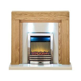 Emilia Electric Fireplace By Natur Pur