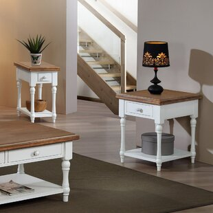 Compare prices Cornwall End Table ByHighland Dunes