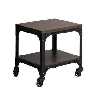 Low priced Burciaga End Table by Williston Forge
