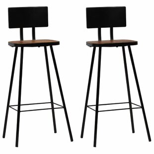 Patchway 74cm Bar Stool (Set Of 2) By Williston Forge