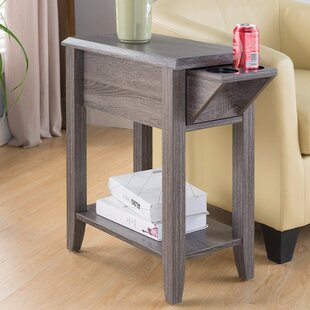 Albertyne End Table with Storage by August Grove