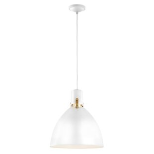 Brayden Studio Triangulum 1-Light LED Bell Pendant