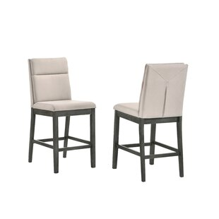 Kehlenbeck Counter Height Upholstered Dining Chair (Set of 2) Red Barrel Studio