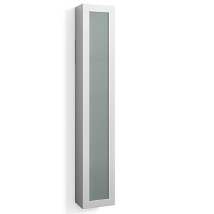 Quinones 30 X 172cm Wall Mounted Tall Bathroom Cabinet By Ebern Designs