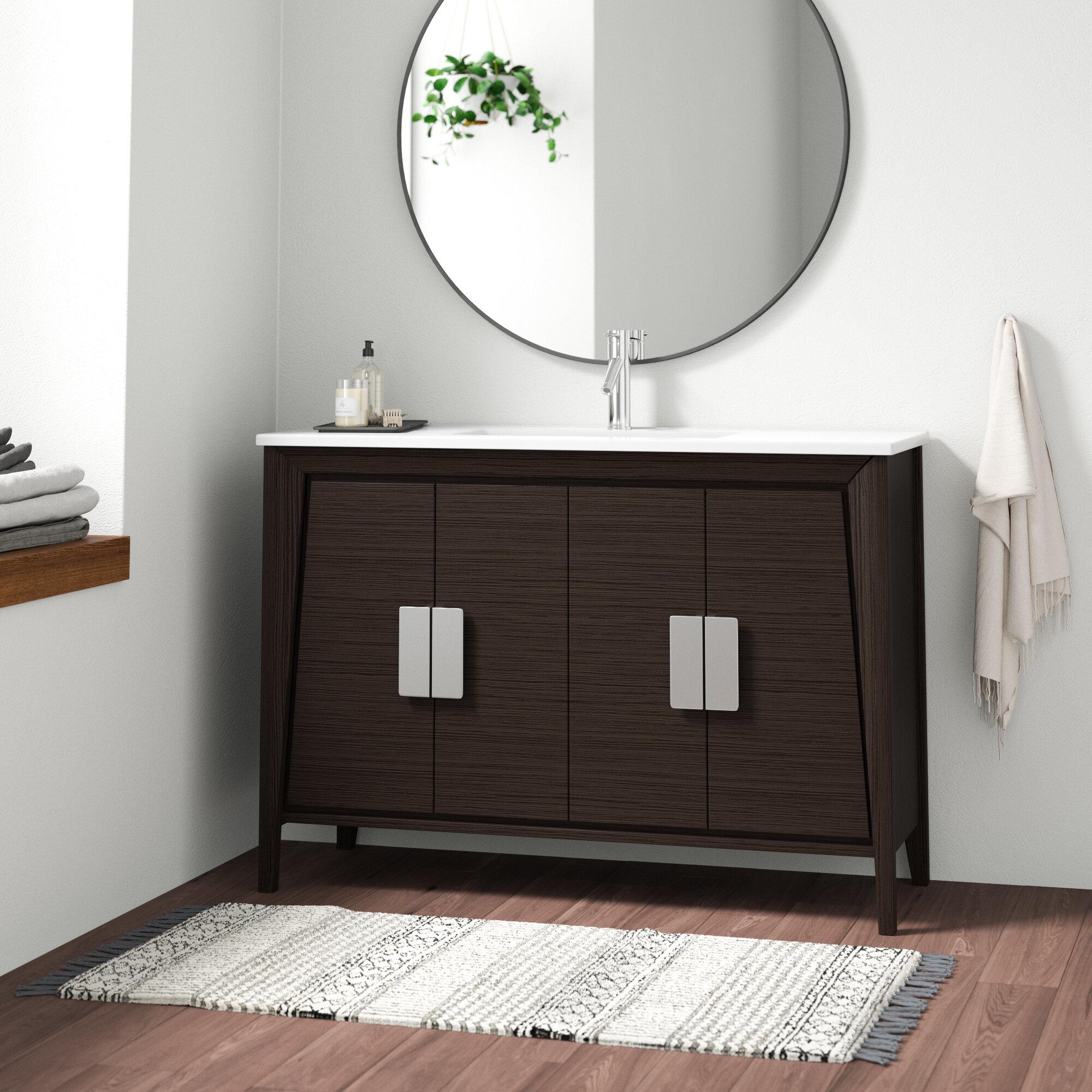 Image of: Mid Century Modern Bathroom Vanities You Ll Love In 2020 Wayfair