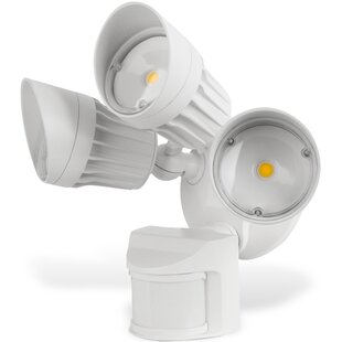 Symple Stuff Lawing Outdoor Security Floodlight with Motion Sensor