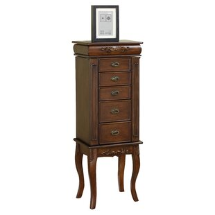 Moser Jewelry Armoire with Mirror ByWildon Home ®