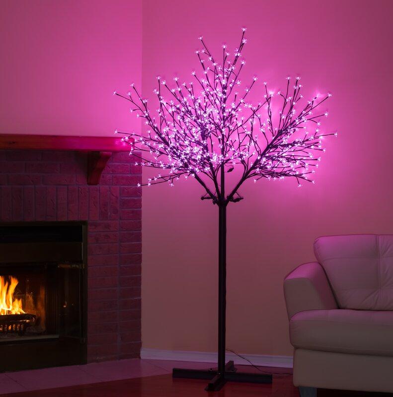 Hi-Line Gift Ltd. Cherry Blossom LED Tree & Reviews | Wayfair