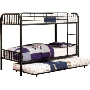 Buying Sonya Twin over Twin Bunk Bed with Trundle by Harriet Bee Reviews (2019) & Buyer's Guide