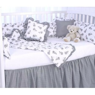 Affordable Price Elephant Tales 3 Piece Crib Bedding Set ByBlueberrie Kids