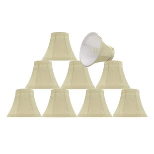 6 Fabric Bell Candelabra Shade (Set of 9)
