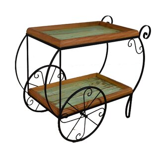 Halter Bar Cart by Bloomsbury Market