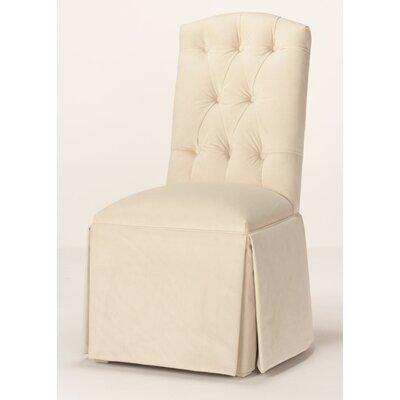 Prime Pearce Diamond Tufted Skirted Side Chair Red Barrel Studio Evergreenethics Interior Chair Design Evergreenethicsorg