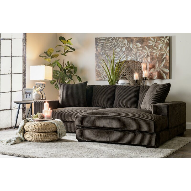 Luxe Right Hand Facing Sectional