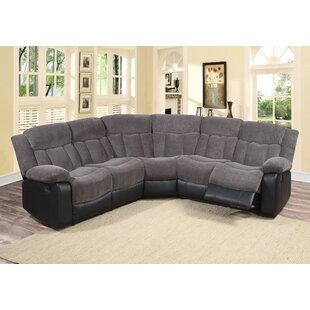 Affordable Price Koster Reclining Sectional by Red Barrel Studio Reviews (2019) & Buyer's Guide