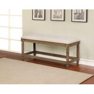 Reviews Armino Wood Bench ByGracie Oaks