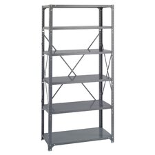 Commercial 6 Shelf Shelving Unit Starter by Safco Products Company