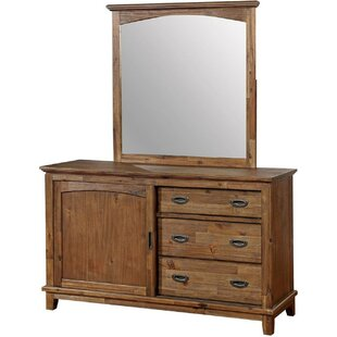 Ervine 3 Drawer Combo Dresser by Loon Peak