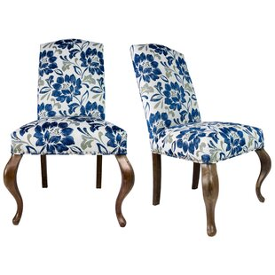 Sole Designs Queen Ann Spring Upholstered Side Chair (Set of 2)