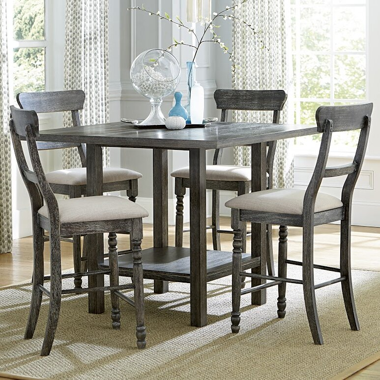 Elegant Erondelle Counter Height Dining Table