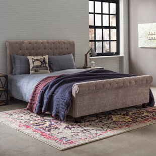 Attayac Upholstered Sleigh Bed By Borough Wharf