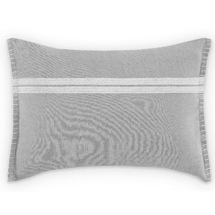Claremont Simple Stripe Cotton Lumbar Pillow