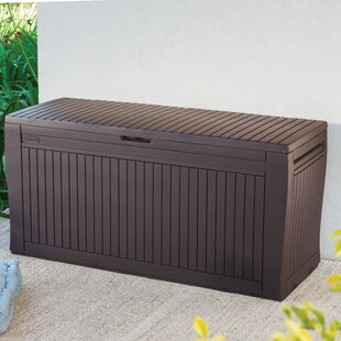 Keter Comfy 71 Gallon Resin Deck Box