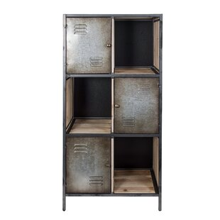 Jayce Rustic Locker Standard Bookcase by Varaluz