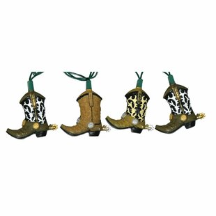American Expedition 10-Light 10 ft. Cowboy Boot String Lights