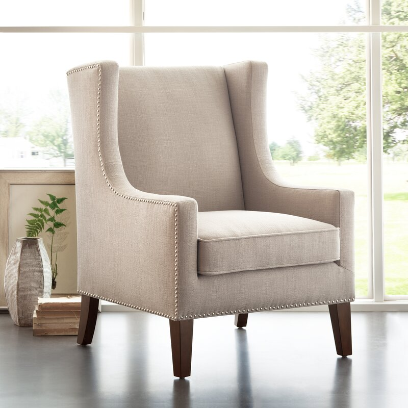 Exceptional Agnes Wingback Chair