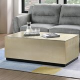 Block Gold Coffee Tables You Ll Love In 2019 Wayfair