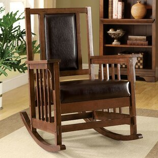 Clarkson Rocking Chair by Loon Peak