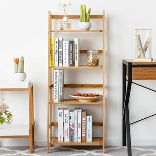 Dias Standard Bookcase by Rebrilliant Great Reviews