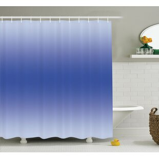 Billington Clear Sky in Summer Day Single Shower Curtain