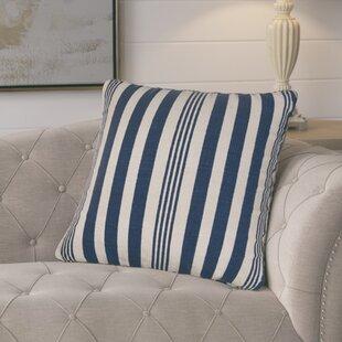 Gladiola Cotton Throw Pillow