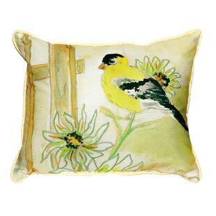 Barr Goldfinch Indoor/Outdoor Lumbar Pillow