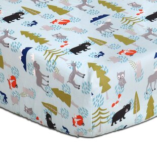 Best Woodland Dreams Fitted Crib Sheet ByThe Peanut Shell