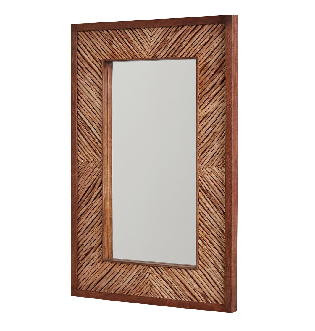 Brown Glam Wall Mirrors You Ll Love In 2021 Wayfair