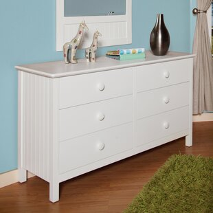 Dakota 6 Drawer Double Dresser By Epoch Design